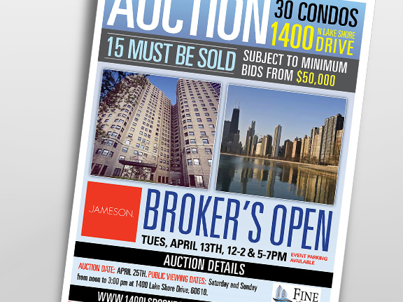 1400 Lake Shore Drive Auction