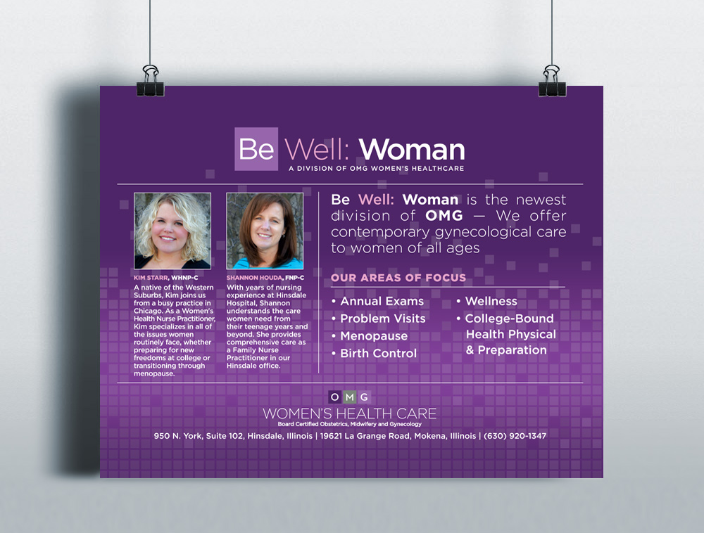 OMG Women's Health Care | Be Well: Woman